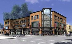 4 story mixed use - Google Search