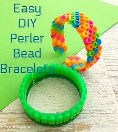Easy Perler Bead Bracelets - craftbits.com