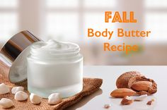 Fall Body Butter Recipe - Make a body butter that smells like Fall with this simple DIY from www.southernzoomer.com