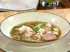 Lobster Pho recipe from Emeril Lagasse via Food Network