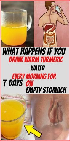 What Happens If You Drink Warm Turmeric Water Every Morning For 7 Days On Empty Stomach - Health Awareness Media What Happens If You, Shit Happens, Turmeric Water, Turmeric Drink, Turmeric And Honey, Turmeric Recipes, Brain Diseases, Natural Health Tips, Natural Healing