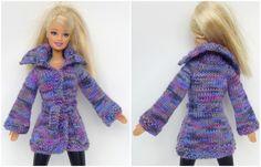 Schnell und einfach Strickjacke für Barbie selberstricken ...
