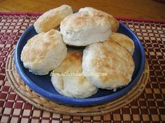 Mama's Cathead Biscuits my grandma made this kept her flour in a bowl all the time just added the daily liquid to it.