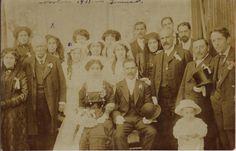 Ana Herrero Iturriaga et Diego Manriquez Vizcarra à Temuco, au Chili en novembre 1911.