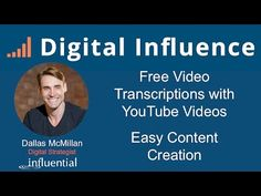 http://digitalinfluence.com.au/free-video-transcription-with-youtube-a-fast-way-to-create-content-for-your-marketing/
