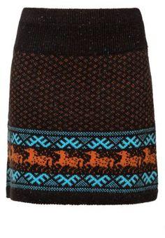 GALLOP - Mini skirt - black
