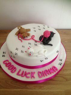 Cat cake Birthday Cake For Cat, Themed Birthday Cakes, Themed Cakes, Cat Cakes, Animal Cakes, Frozen Cake, Novelty Cakes, Fun Cupcakes, Sprinkles