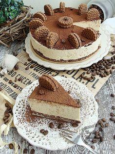 Kawowy mieszaniec Poke Cakes, Lava Cakes, Fudge Cake, Brownie Cake, Custard Cake, Gingerbread Cake, Polish Recipes, Polish Food, Queso