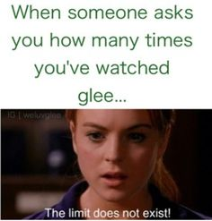 Haha, Glee and Mean Girls together!!
