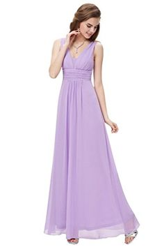 Gorgeous Bridal Long Aline Vneck Prom Bridesmaid Evening Dresses 2017 Formal US Size 14 * Amazon most trusted e-retailer #HomecomingDresses2017