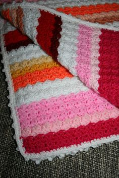 Sedge blanket pattern - very easy, nice texture  #crochet #throw #blanket #afghan