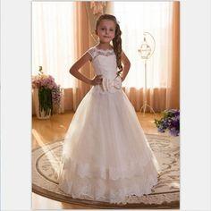 Mädchen Kleid Mechthild