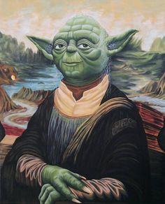 Yoda Lisa [Jerry Chacon] (Gioconda / Mona Lisa)
