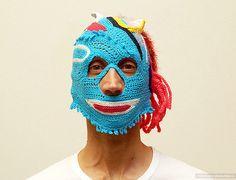 Вязанные маски к Хэллоуину