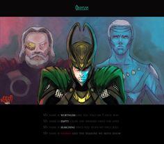 Marvel: My Name by nowwheresmynut.deviantart.com on @deviantART