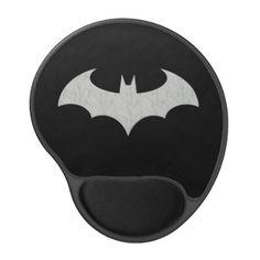 Cool Batman Bat Logo Gel Mouse Pad - logo gifts art unique customize personalize