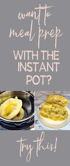 Want to meal prep with the Instant Pot? If you're anything like me you've fallen in love with the Instant Pot, it's such an awesome time-saving kitchen helper. Take a look at this blog post to see how I meal prep with my Instant Pot #InstantPot #mealprep #mealprepping Best Meal Prep, Meal Prep For The Week, Portion Control Diet, Clean Eating Recipes, Healthy Recipes, Meal Prep For Beginners, Kitchen Helper, Time Saving, Paleo Diet