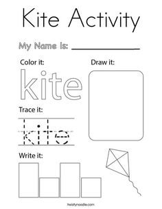 Letter Of The Week, Summer Is Here, Kids Prints, Kite, Coloring Pages, Letters, Activities, Writing, Quote Coloring Pages