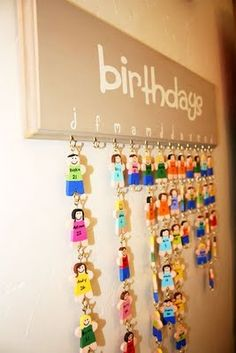 Clutter-Free Classroom: Birthday Displays - Setting Up the Classroom Series …
