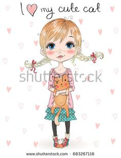21d525c35 88 Best little girl drawing images