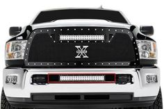 2013 2014 DODGE RAM 2500 3500 TORCH SERIES LED LIGHT BUMPER GRILLE GRILL T-REX Lifted Cummins, Lifted Dodge, New Trucks, Dodge Trucks, Cool Trucks, Truck Mods, Truck Parts, Dodge Accessories, Rolling Coal