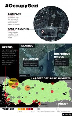 Mapping the Protests in Turkey