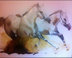 horses Olio su tela 200x180. 2013