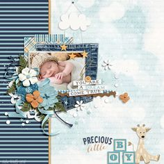 Grow Through Life Baby Boy by Kristin Cronin Barrow and Digital Scrapbook Ingredients http www sweetshoppedesigns com sweetshoppe product php productid 39174