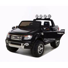 Licensed Ford Ranger Kids Ride On Car Black 12V - 2 seater - $489 from my deal