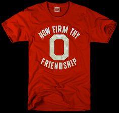 How Firm Thy Friendship...