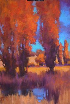 """P1000656 by Teresa Saia Pastel ~ 16"""" x 12"""""""