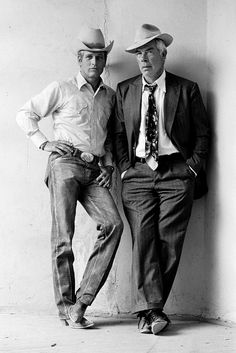 Paul Newman and Lee Marvin by Terry O'Neill.
