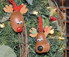 Megpie Designs: Christmas Reindeer Ornaments