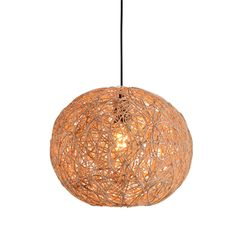 Find More Pendant Lights Information about Modern Lustre Rattan Round Ball…