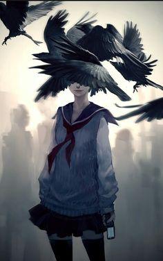 Reimagined Edgar Allen Poe's 'The Raven'