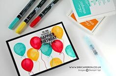 Balloon Adventures Stamp Set by  Stampin Up