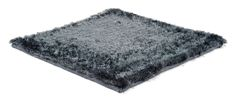 Polyester Range / SG Airy Premium Low Cut rug in solid steel   kymo   contemporary floorwear from Germany