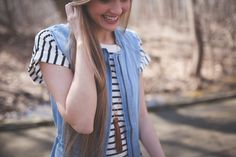 Stripes perfect for layering...
