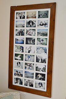 Cherry Street Cottage: DIY Oversized Framed Photos
