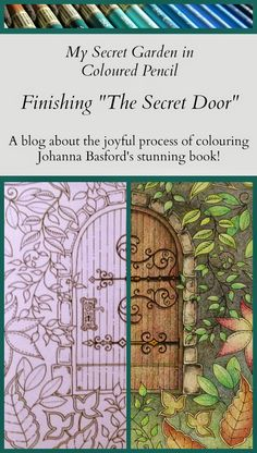 Passion For Pencils My Secret Garden Colouring Book Part 4