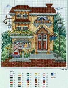 ponto de cruz cottage - Bing Imagens