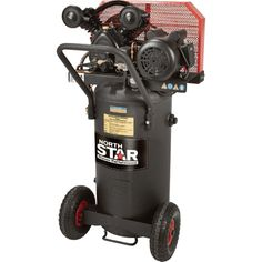 FREE SHIPPING — NorthStar Belt Drive Single-Stage Portable Air Compressor — 2 HP, 20-Gallon, Vertical, 5.0 CFM