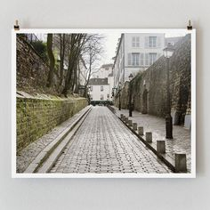 Paris Photography Rue des Saules Large Wall by TheParisPrintShop