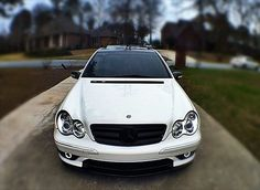 W203 AMG White