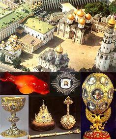 Joyas nobleza Rusa . Museo Armeria Kremlin