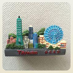 台北のシティマグネット。立体的だし、台北1010もあってとてもかわいいです。結構お気に入り。150元で購入しました。