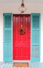 Embrace my space: key west front doors hallways and entrance мебель. Doors, Paint Colors For Home, House Exterior, Key West Decor, House Painting, Beach Cottage Style, Front Door Design, Shutters Exterior, Exterior House Colors