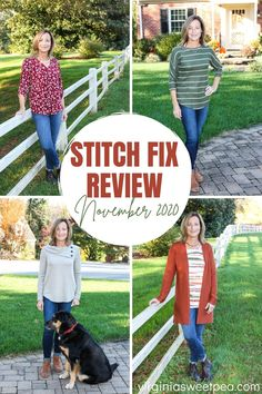 Stitch Fix Review for November 2020 - See styles perfect to enjoy wearing in both fall and winter. #stitchfix #stitchfixreview via @spaula Stitchfix Reviews, Make Your Own Clothes, Stitch Fix, November, About Me Blog, Cute Outfits, Super Cute, Diy Beauty, Fall