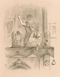 John Tenniel | 1820-1914 | Alice Going Through the Looking-Glass | Alice in Wonderland | The Morgan Library & Museum
