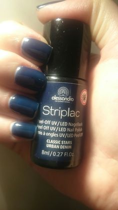 alessandro Striplac  Urban Denim Uv Led, Gel Polish, Nails, Nail Polish, Nail Polishes, Ideas, Finger Nails, Ongles, Gel Nail Varnish